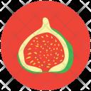 Half pomegranate Icon
