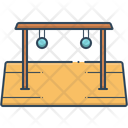 Half Round Monkey Bar Icon
