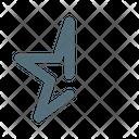 Half Star Rating Icon