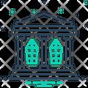 Hall Build Building Icon