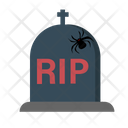 Halloween Gravestone Tombstone Icon