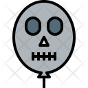 Halloween Balloon Holiday Icon