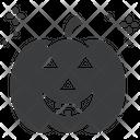 Pumpkin Horror Lantern Icon