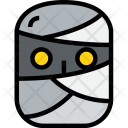 Halloween Mummy Holiday Icon