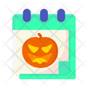 Halloween Scary Horror Icon