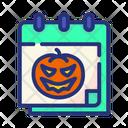 Halloween Scary Horror Icon