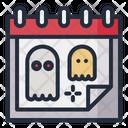 Halloween Date Schedule Icon
