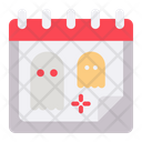 Halloween Date Schedule Icon