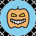 Halloween Face Pumpkin Icon