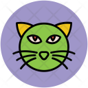 Halloween Cat Evil Icon