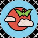 Halloween Bat Evil Icon