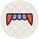 Halloween Teeth Demon Icon