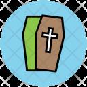 Halloween Coffin Casket Icon