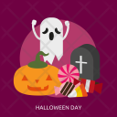 Halloween Day Celebrations Icon