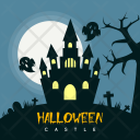 Halloween Castle Holiday Icon
