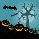 Halloween Pumpkins Holiday Icon