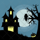 Halloween House Holiday Icon
