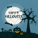 Halloween Night Holiday Icon
