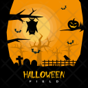 Halloween Field Holiday Icon