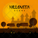 Halloween Scene Holiday Icon