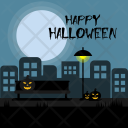 Halloween Road Holiday Icon