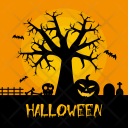 Halloween Tree Holiday Icon