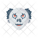 Halloween Scull Clown Icon
