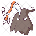 Halloween Axe Icon