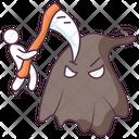 Halloween Axe Axe Killing Ghost Icon