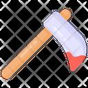 Halloween Axe Tool Hatchet Icon