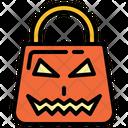 Bag Halloween Shopping Bag Icon