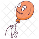 Halloween Balloon Icon
