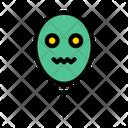 Balloon Halloween Scary Icon