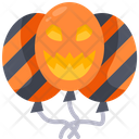 Balloon Halloween Horror Icon