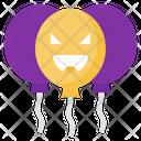 Halloween Balloon Halloween Balloon Icon