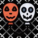 Halloween Balloons Icon