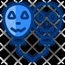 Halloween Balloons Halloween Balloons Icon