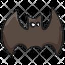 Halloween Bat Animal Bat Couve Souris Icon