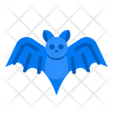 Bat Full Moon Icon
