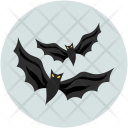 Halloween Bats Evil Icon