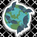 Halloween Bats Icon
