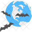 Halloween Bat Evil Icon