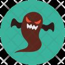 Halloween Black Ghost Icon