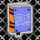 Halloween Book Magic Book Horror Book Icon