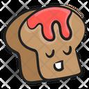 Halloween Bread Icon