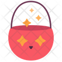 Bucket Candy Treat Icon