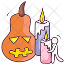 Halloween Candles Icon