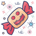 Halloween Candy Halloween Sweet Party Candy Icon