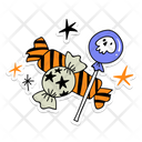 Halloween Candy Candy Halloween Icon