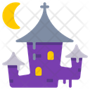 Castle Halloween Hunted Icon